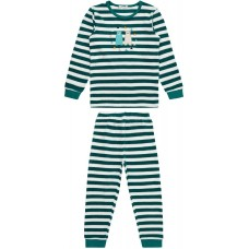 Sense Organics Long John Kinder Frottee Schlafanzug GOTS Gr. 98 & 110