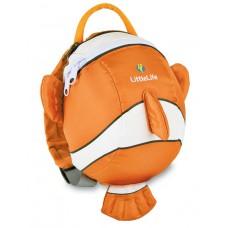 LittleLife Animal Kleinkindrucksack NEMO Clownfisch 2L
