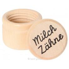 goki Milchzahndose aus Holz