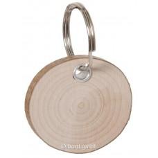 Schlüsselanhänger Rindenscheibe