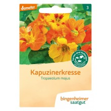 bingenheimer saatgut Kapuzinerkresse (Tropaeolum majus) Samen B417N