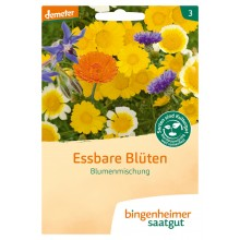 bingenheimer saatgut Essbare Blüten Blumenmischung Samen B570N