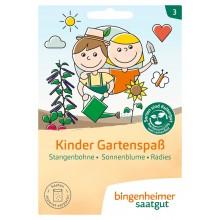 bingenheimer saatgut Kinder Gartenspaß - 3 Pflanzensorten Set - Samen G713U