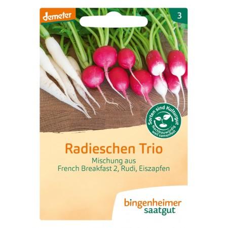 bingenheimer saatgut Radieschen Trio Samen G728N