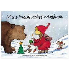 Grätz Verlag - Mini-Weihnachts-Malbuch DIN-A7 - Illustration: Outi Kaden