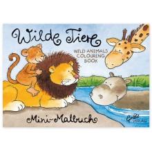 Grätz Verlag - Mini-Malbuch Tiere DIN-A7 - Illustration: Annett Rudolph