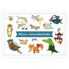 Grätz Verlag - Wundertüte Freche Tiere - Illustration: Katja Jäger