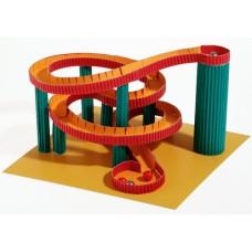 KRAUL Kleine Papierkugelbahn - Murmelbahn aus Papier