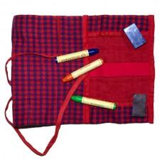 Lanka Kade Rollmäppchen speziell für Wachsmalblöcke & Wachsmalstifte