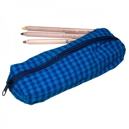 Lanka Kade Stiftemäppchen aus handgewebter Baumwolle
