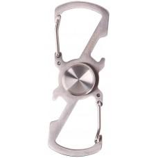 munkees Spinner Doppel-Karabiner Schlüsselanhänger