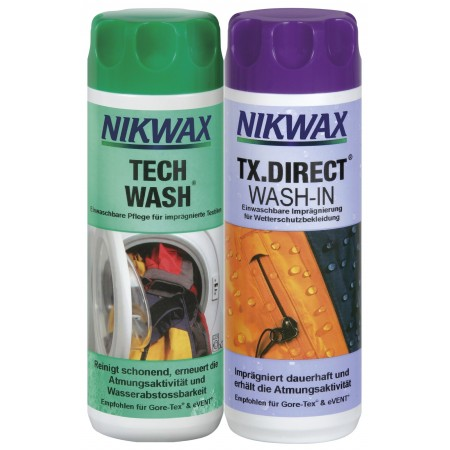 NIKWAX Tech Wash + TX-Direct Kombipack - 2x300ml