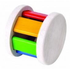 PlanToys Rollrassel Walze Krabbelspielzeug Babyspielzeug