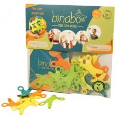 TicToys Binabo - 24 Chips, gemischte Farben - Konstuktionsspielzeug