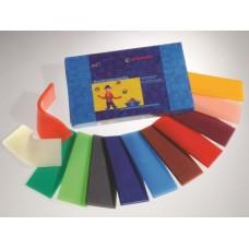 STOCKMAR Knetbienenwachs - 12 Farben - 100x40 mm