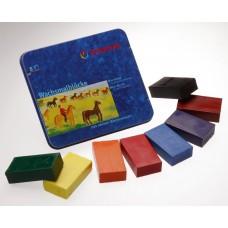 STOCKMAR Wachsmalblöcke - 8 Farben Standardsortiment