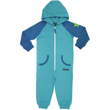 VILLERVALLA overall COLLEGE WEAR Kinder Kapuzenoverall REEF/WATER Gr. 152/158