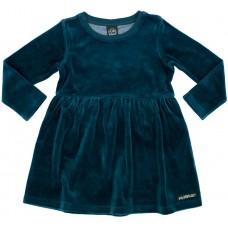 VILLERVALLA twirl dress VELOUR Mädchen Langarmkleid Gr. 98 - 140