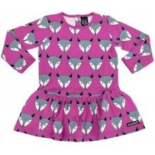 VILLERVALLA dress FOX LOTUS Mädchen Langarmkleid Gr. 98 - 134