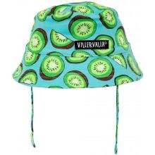 VILLERVALLA sun hat with strings Kleinkinder Sommerhut Gr. 48/50