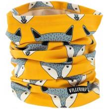 VILLERVALLA tube scarf FOX Kinder Schlauchtuch Gr. 4-7 Jahre