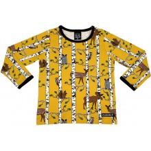 VILLERVALLA t-shirt BIRCH ANIMALS Kinder Langarmshirt Gr. 86, 98 & 146