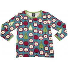 VILLERVALLA t-shirt FRUIT Kinder Langarmshirt Gr. 92 - 128