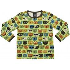 VILLERVALLA t-shirt COOL CATS Kinder Langarmshirt Gr. 92 - 128