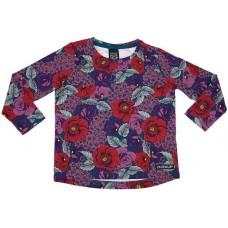 VILLERVALLA t-shirt FLOWER Mädchen Langarmshirt 128