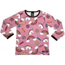 VILLERVALLA t-shirt CAPRICORN sorbet Mädchen Langarmshirt Gr. 92