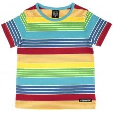 VILLERVALLA t-shirt multistripe Kinder Kurzarmshirt Gr. 80 - 140