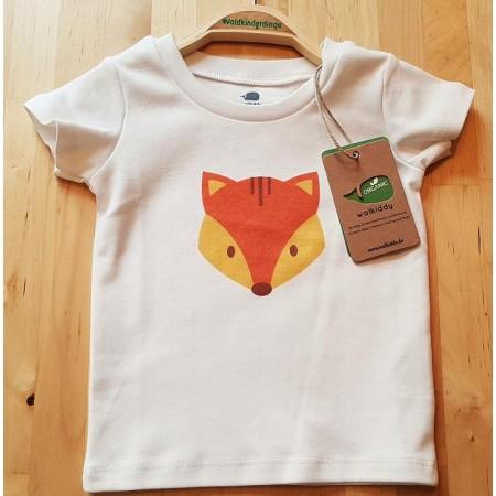 walkiddy Fuchs T-Shirt aus Bio-Baumwolle Gr. 80 92